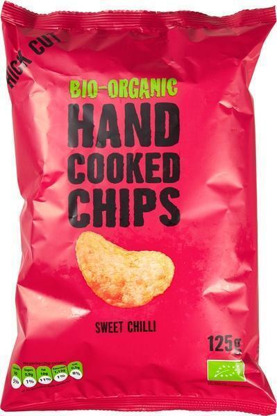 Handcooked chips sweet chilli (125g)