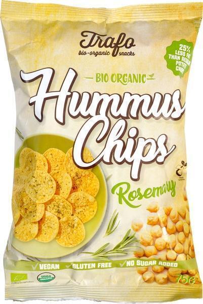 Hummus chips rozemarijn (75g)