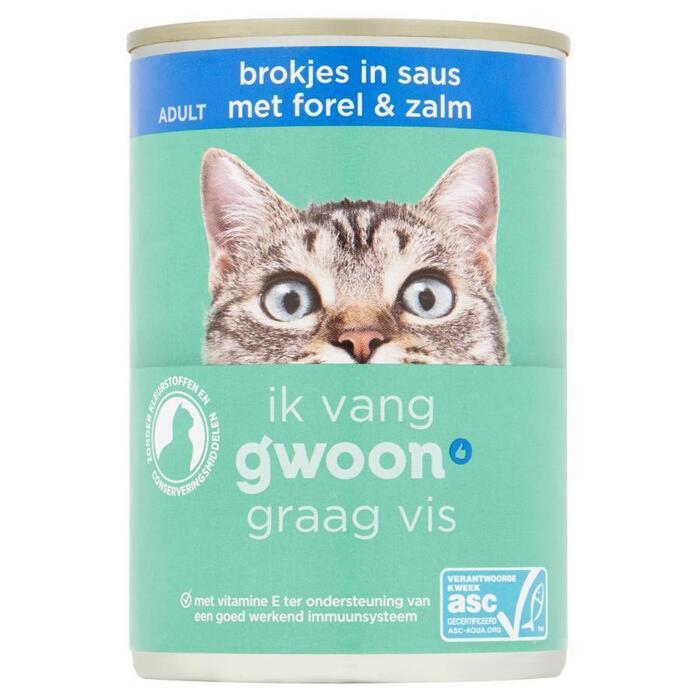 g'woon Brokjes saus forel zalm (415g)