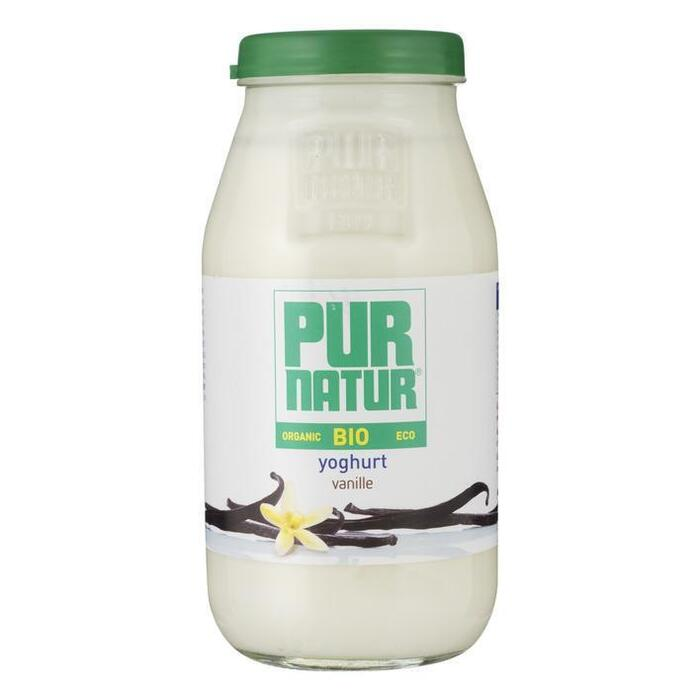 Pur Natur Biologische yoghurt vanille (500g)