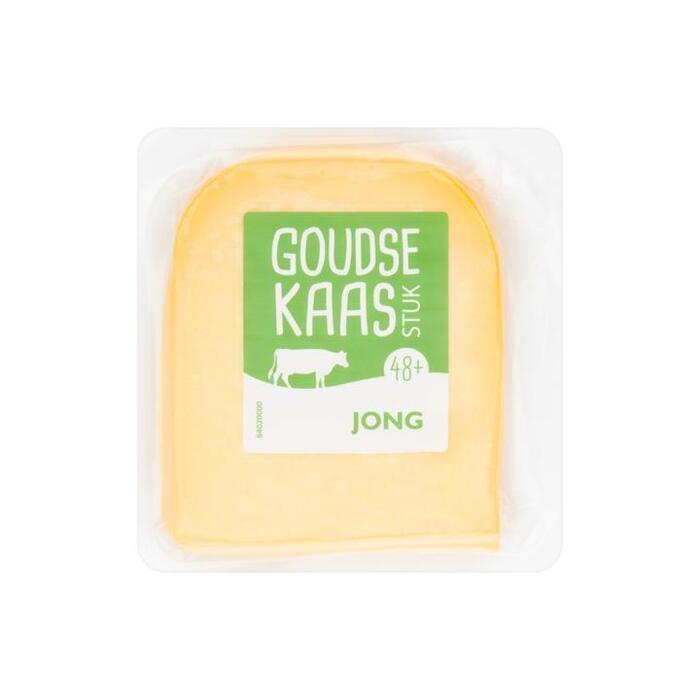 Goudse Kaas Stuk 48+ Jong ca. 450 g