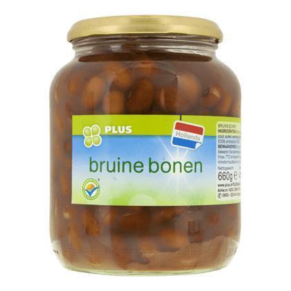 Bruine bonen (Pot, 660g)