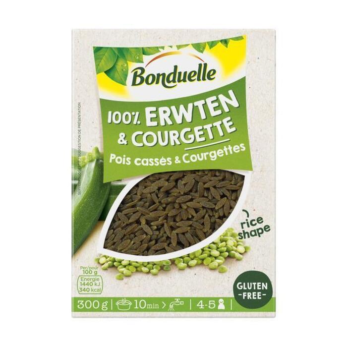 Bonduelle 100% Erwten courgette rijst (300g)