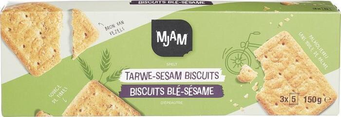 Tarwe-sesam biscuits (150g)