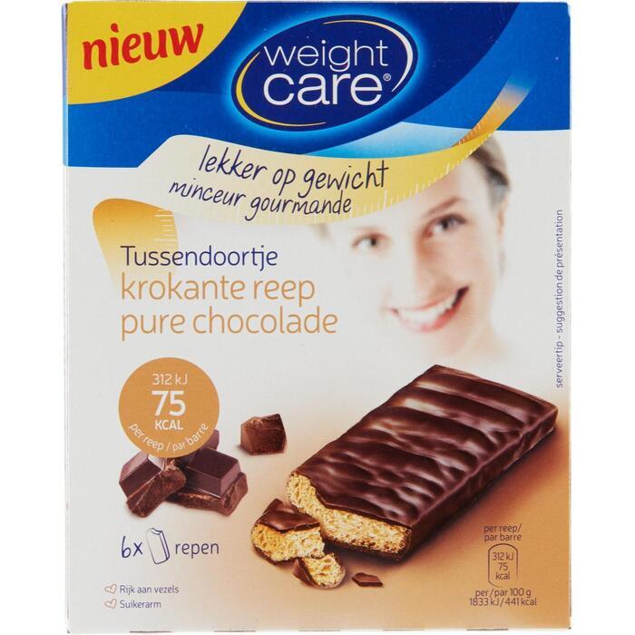 Crusty snack pure chocolade (6 × 102g)