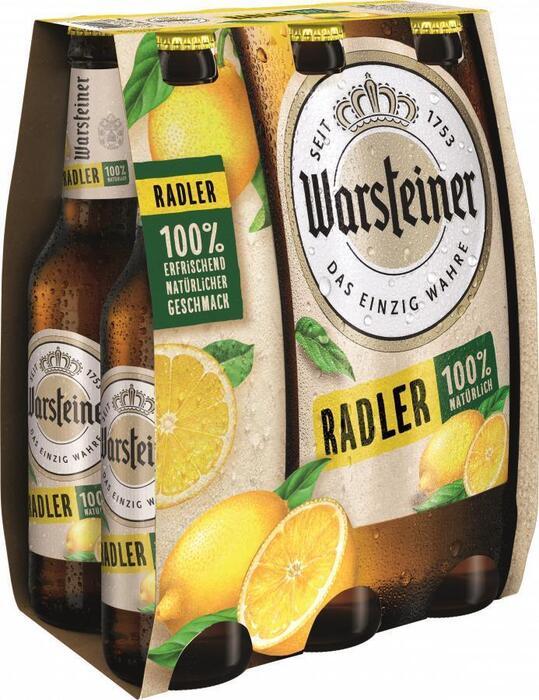 Warsteiner Radler (rol, 6 × 1.98L)