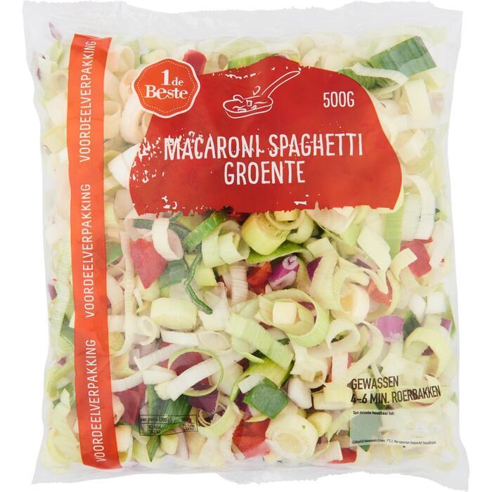 WHeemskerk Macaroni spaghetti groenten 500 GRM VERPAKT (500g)