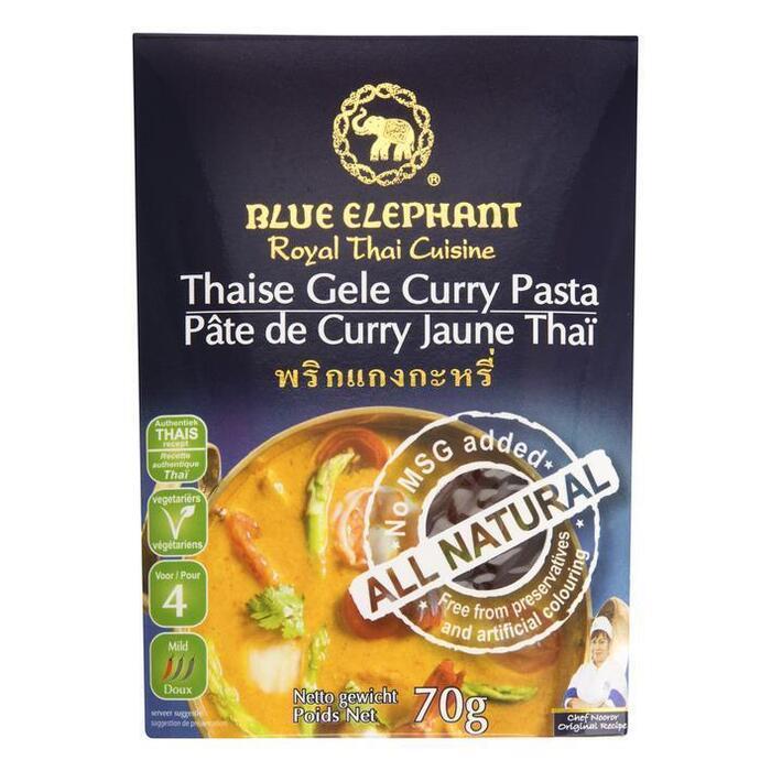 Thaise Gele Curry Pasta 70 g (70g)