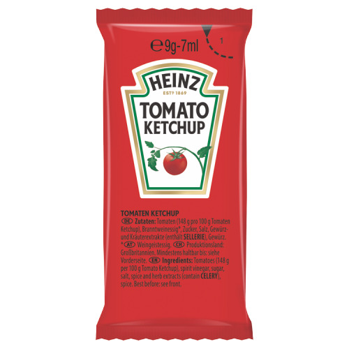 Heinz Tomato Ketchup 1500 x 8 g (8g)