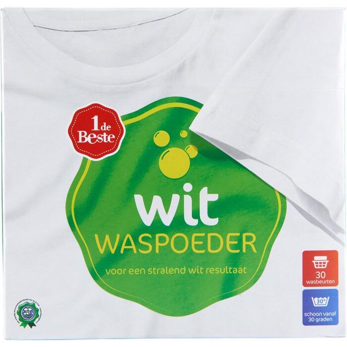 Waspoeder wit 30 wasbeurten (2.02kg)