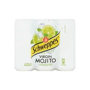 Schweppes Mojito cocktail (6 × 33cl)