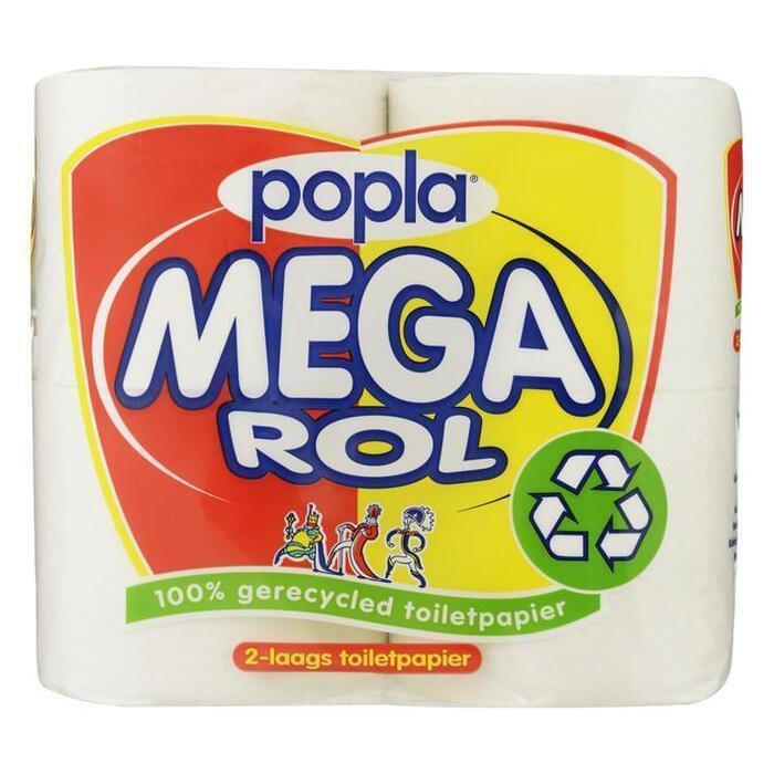 Popla Megarol toiletpapier (rollen)