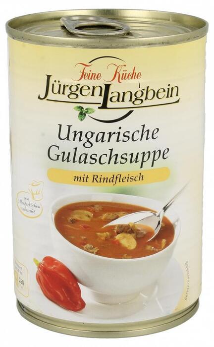 Jurgen Langbein Luxe Hongaarse goulashsoep (40cl)