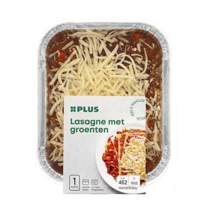 Groenten lasagne (400g)