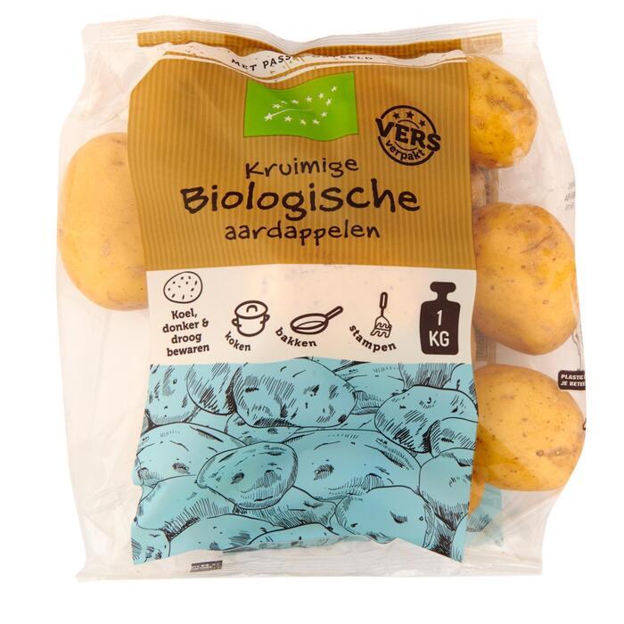 Kruimige Biologische aardappelen 1,0 kg (1kg)
