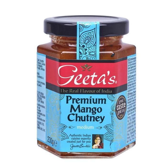 Geeta's Premium mango chutney (230g)