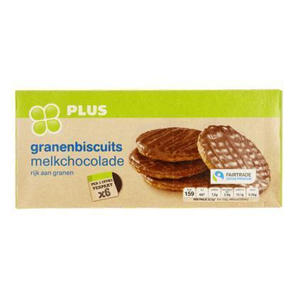 Granenbiscuit Choco Fairtrade (195g)