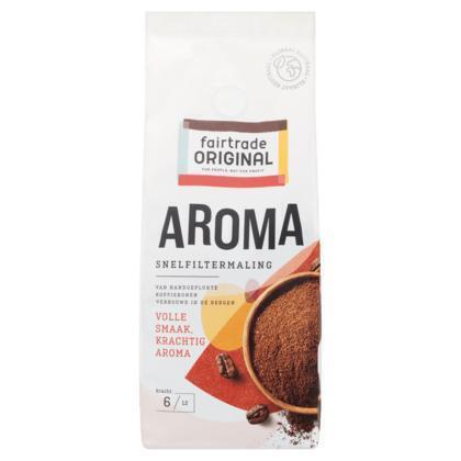 Fair Trade Original Aroma koffie snelfiltermaling (250g)