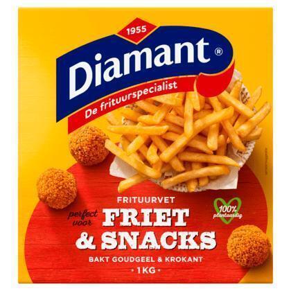 Diamant Friet & snacks vast frituurvet (1g)