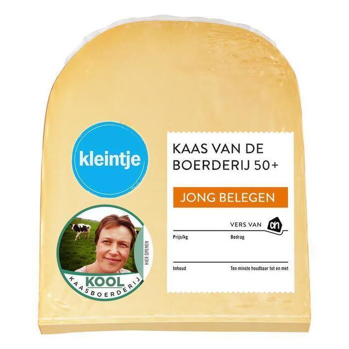 AH Kaas vd boerderij jong bel 50+ stuk kvp (243g)