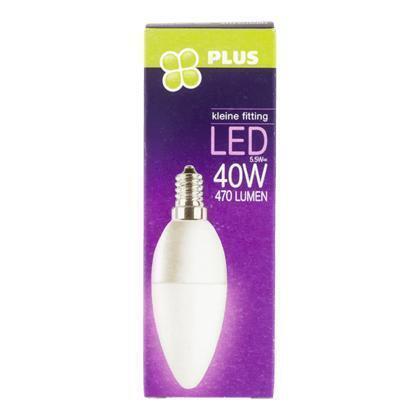 Lamp LED 40W Kaars kleine fit mat