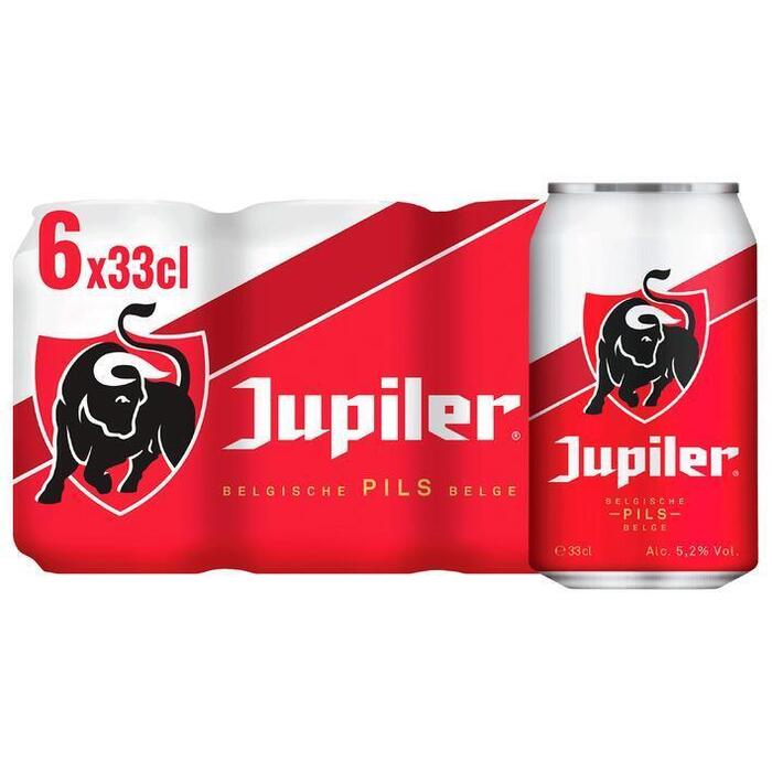 Jupiler blond (rol, 6 × 33cl)