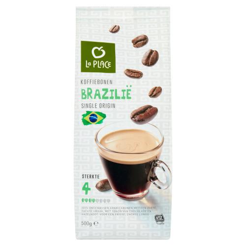 La Place Koffiebonen Brazilië Single Origin 500 g (500g)