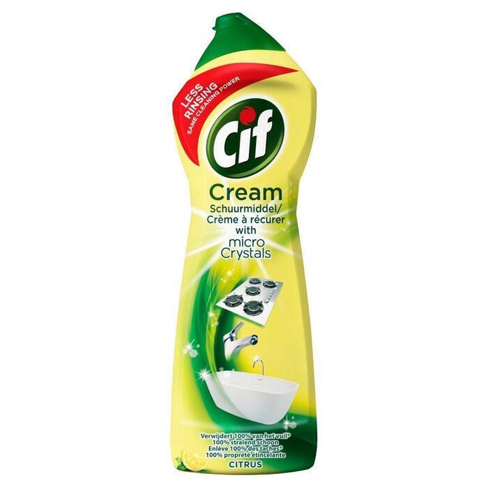 Schuurmiddel Cream Citroen (Stuk, 0.75L)