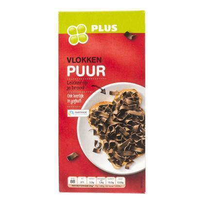 Pure chocolade vlokken (300g)