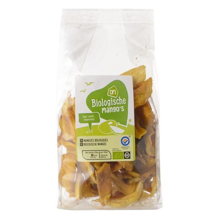 Biologische mango's gedroogd (zak, 150g)