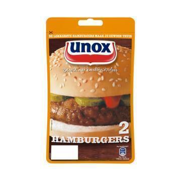 Hamburgers (zak, 2 stuks) (160g)