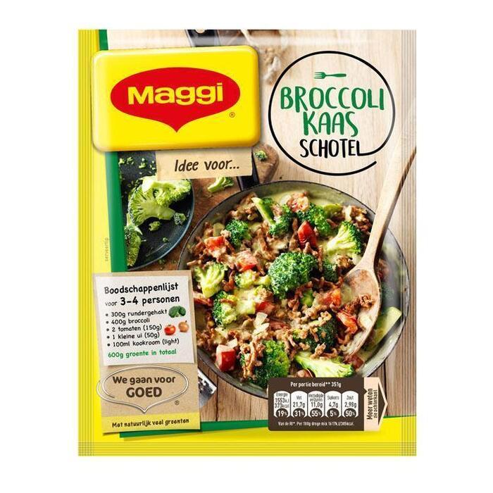 Uit de pan gehakt-broccoli-kaas (54g)