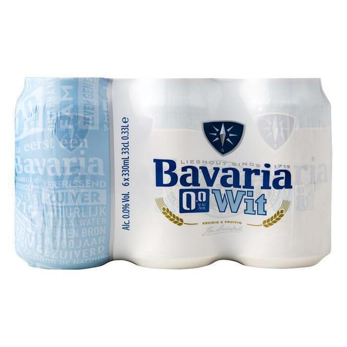 Bavaria 0.0% Wit (rol, 6 × 33cl)
