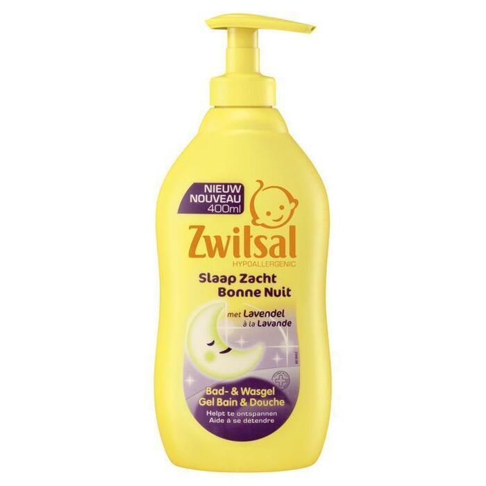 Zwitsal Baby Slaap Zacht Bad- & Wasgel Lavendel 400ml (40cl)