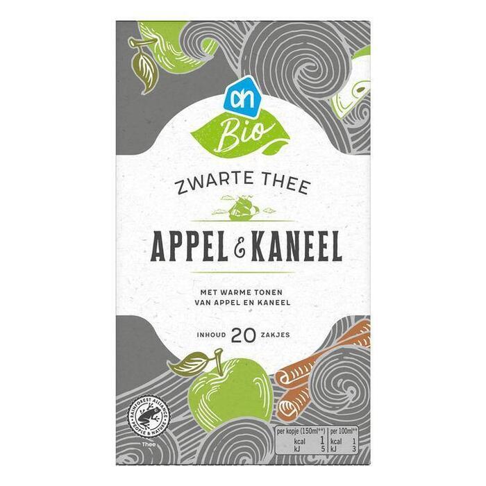 AH Biologisch Zwarte thee appel & kaneel