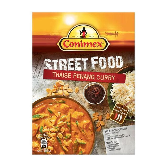 Conimex Street food kit - Thaise penang curry (doos, 150g)