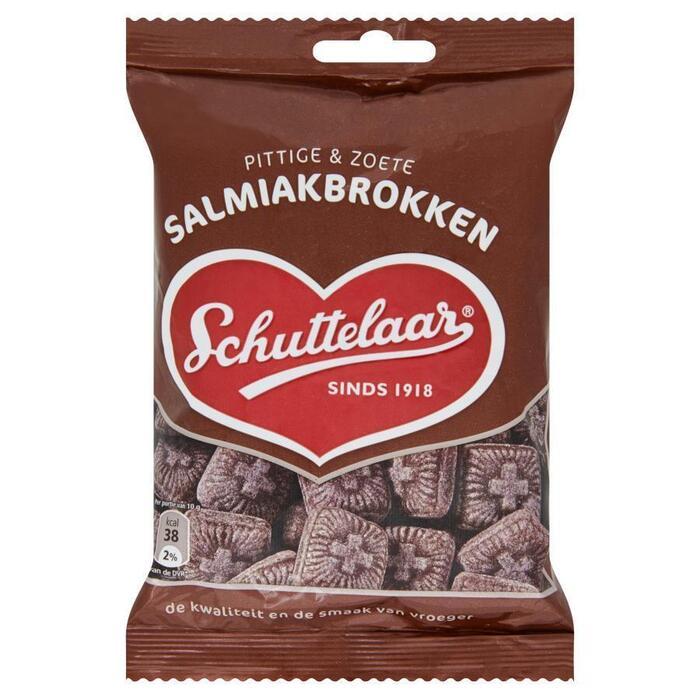 Schuttelaar Salmiakbrokken (175g)