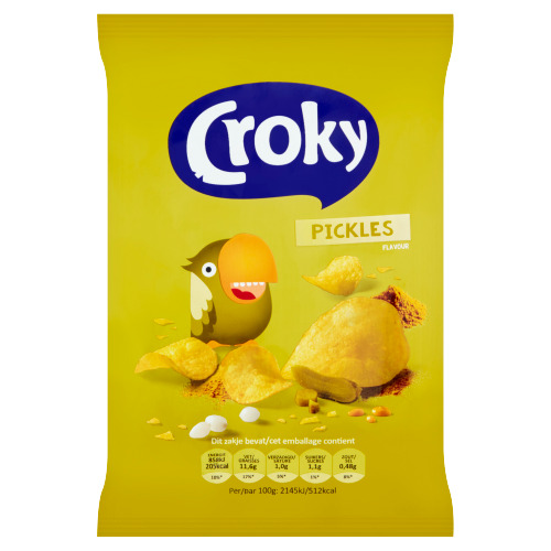 Croky Pickles Flavour 40 g (40g)