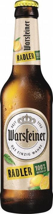 Warsteiner Premium radler fles (33cl)