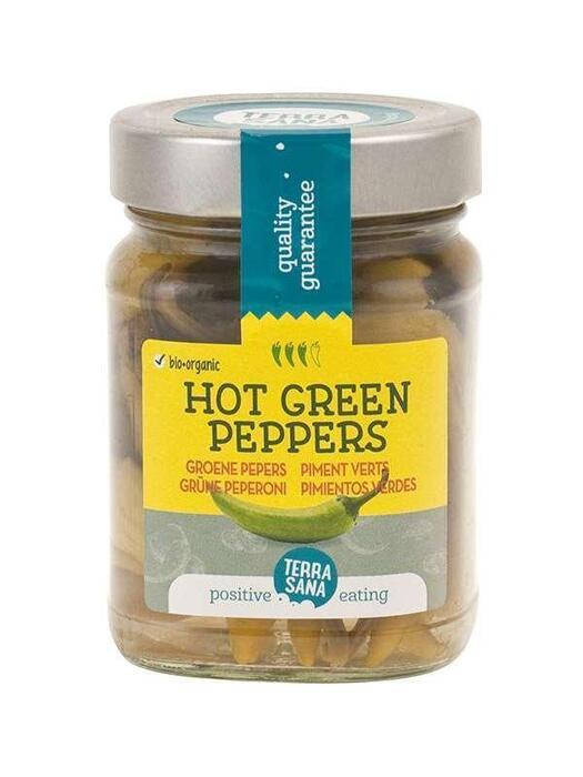 Groene pepers TerraSana 230g (230g)