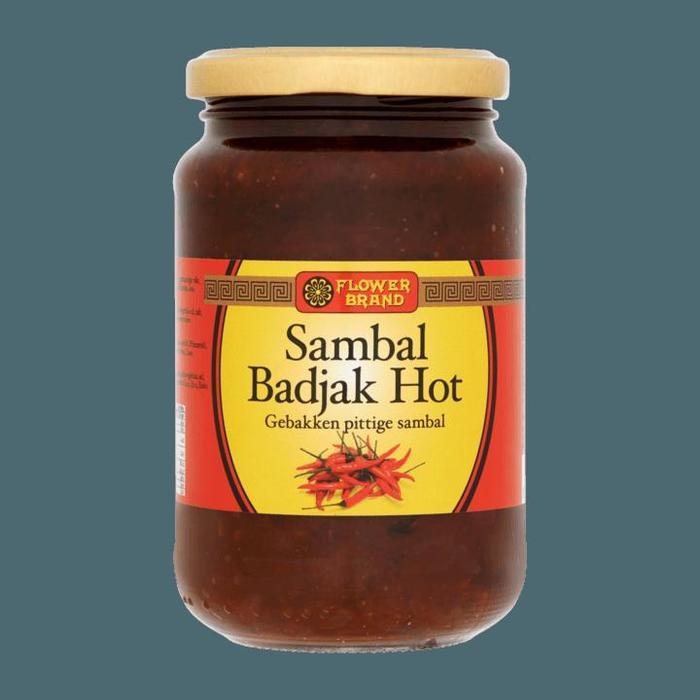 Flower Brand Sambal Badjak Hot 375g (375g)