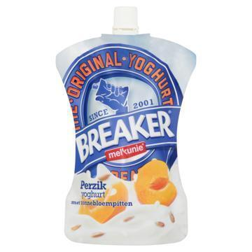 Breaker Perzik yoghurt met zonnebloempitten (Stuk, 200g)