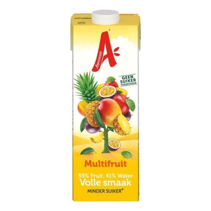 Halfzoet Multifruit Mano - Ananas - Passievrucht (Stuk, 1L)