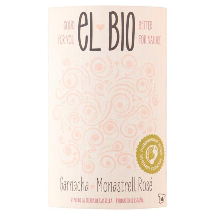 El Bio Vdl Tierra de Castilla Garnacha Monastrell Rose (Organic) 75 cl fles (rol, 75 × 0.75L)