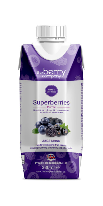 TheBerryCompany SuperBerry Purple 330ml (33cl)