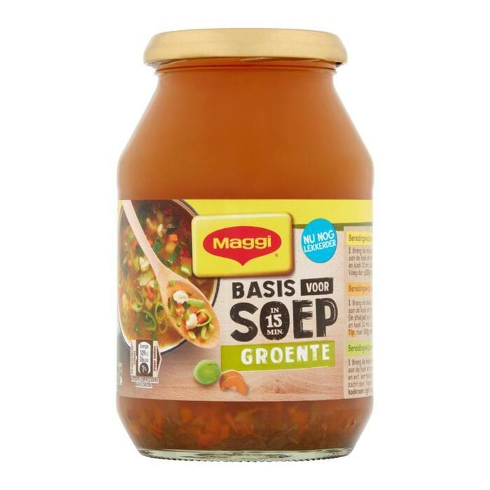 Basis voor Soep, Vegetarisch, Groente (Stuk, 48.5cl)
