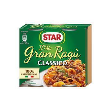 Star Gran Ragù Classico 2 x 180 g (2 × 180g)