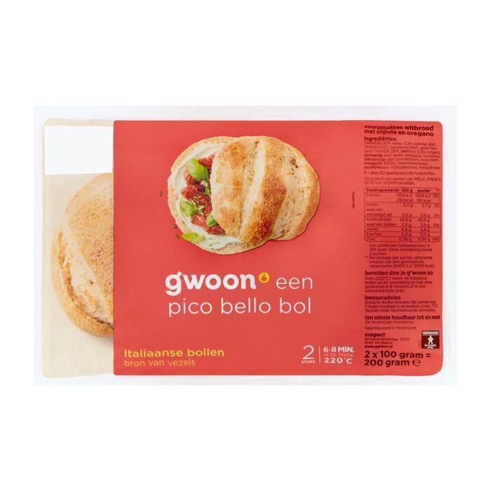 g'woon Italiaanse bollen (200g)