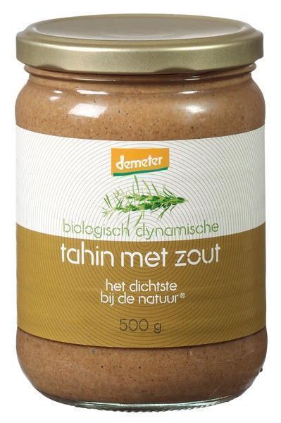 Tahin met zout (pot, 500g)