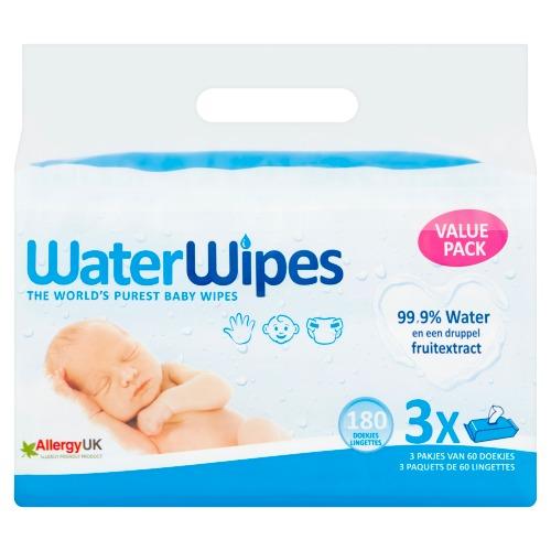 WaterWipes Doekjes Value Pack 180 Stuks